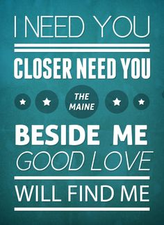 good love will find me <3