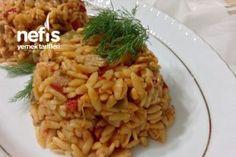 Şahane Tavuklu Sebzeli Arpa Şehriye Pilavı Tarifi Risotto, Ethnic Recipes, Food, Essen, Meals, Yemek, Eten