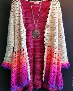 Fabulous Crochet a Little Black Crochet Dress Ideas. Georgeous Crochet a Little Black Crochet Dress Ideas. Crochet Vest Pattern, Crochet Jacket, Knitted Poncho, Crochet Cardigan, Crochet Shawl, Crochet Stitches, Knit Crochet, Crochet Patterns, Black Crochet Dress