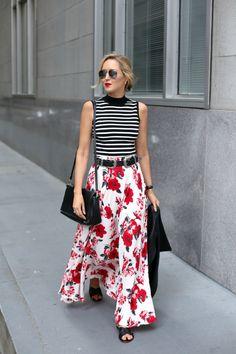 red-white-floral-nasty-gal-maxi-skirt-black-white-striped-sleeveless-turtleneck-cross-slide-sandals-mary-orton-memorandum-san-francisco-style-fashion-blog6