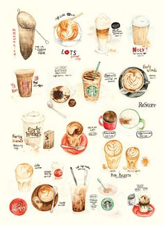 20 Coffees in a piece by The Lily X ❤