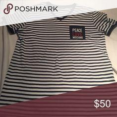 Love Moschino Men's Shirt large Authentic! Moschino Shirts Tees - Short Sleeve