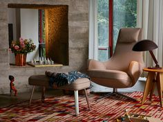 Brand new lounge chair Repos.  Developed by Vitra in Switzerland,  Design Antonio Citterio