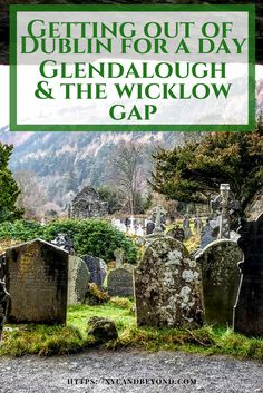"""Lonely Planet Ireland calls Glendalough """"truly one of the most beautiful places in Ireland and a highlight of any trip to the island.""""  via @https://www.pinterest.com/xyuandbeyond/"""