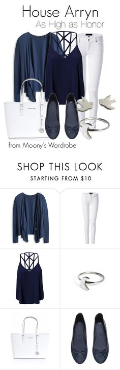 """""""House Arryn"""" by evalupin ❤ liked on Polyvore featuring Juicy Couture, Glamorous, Holly Ryan, Michael Kors, H&M, Marc by Marc Jacobs, GameOfThrones and arryn"""