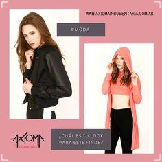 ¿Qué #look va con vos? #Moda a tu estilo ➦ www.axiomaindumentaria.com.ar