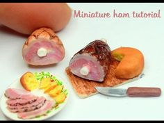 Hello everybody. I'm glad to share with you my cute miniature polymer clay ham tutorial:) I hope you like it. Don't forget to subscribe for more videos Check...