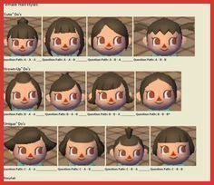 New Leaf Hair Color Guide 148208 17 Mejores Imagenes De Cabello Acnl En Pinterest New Leaf Hai In 2020 Animal Crossing Hair Animal Crossing Animal Crossing Hair Guide
