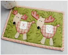 Day 2 of the Patchsmith's 'Twelve Mug Rugs of Christmas' and the Reindeer are out to play. Of course Patchsmith Reindeer are not j...