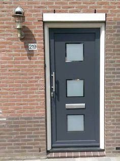 Moderne voordeuren - Kroon Kozijn, nummer 1 in Kunststof Kozijnen