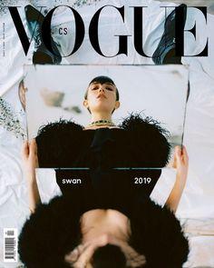 Grace Hartzel by Dan Beleiu for Vogue Czechoslovakia April 2019 - Minimal. / Visual.