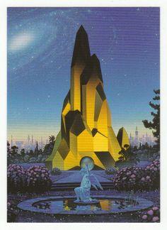 Tim White Fantasy Art Cards # 64 Garden at the Edge of Forever - FPG - 1994