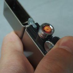 Briquet Rechargeable en USB - Cadeau Maestro #briquet