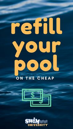 When you have to keep a pool full, you start to realize just how expensive water is. Choose a pool water delivery system that works for you and your budget. Deep Well Submersible Pump, Solar Pool Cover, Water Delivery Service, Pool Hacks, Pool Care, Pool Liners, Pool Maintenance, Water Well, Water Quality
