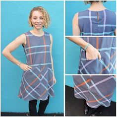 Dana is showing off her adorable @grainlinestudio Farrow dress! She made hers from Loominous Crisscross in Dusk by @annamariahorner (item #90250)! We are totally in love with how it turned out!  #sewing #fabric #grainlinestudio #farrowdress #annamariahorner #sewistsofinstagram #isew #hartsfabric #sewyourhartoutsewyourhartout,farrowdress,hartsfabric,grainlinestudio,90250,annamariahorner,sewing,sewistsofinstagram,isew,fabricharts_fabric