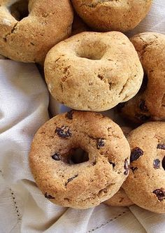 The Spunky CoconutBagels - Lexie's Kitchen | Gluten-Free Dairy-Free Egg-Free -