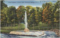 Saratoga Springs Postcards - Google Search