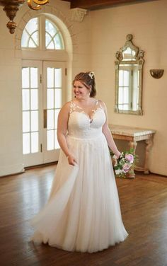 Wedding Dress by Stella York - Search our photo gallery for pictures of wedding dresses by Stella York. Find the perfect dress with recent Stella York photos. How To Dress For A Wedding, Wedding Dresses Plus Size, Plus Size Wedding, Boho Wedding Dress, Designer Wedding Dresses, Casual Wedding, Mermaid Wedding, Lace Wedding, Dream Wedding