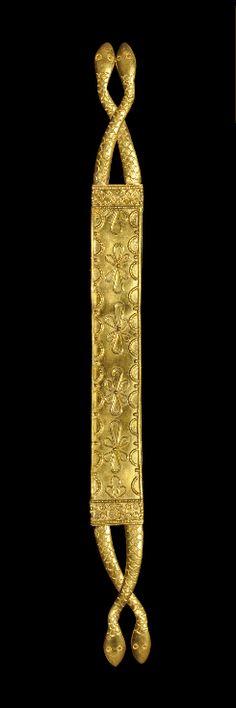 Greek Snake Type Bracelet. Circa 300-100 BC. <3