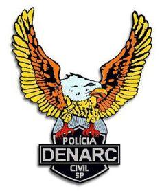 POLICIA CIVIL ESTADO DE SÃO PAULO - DENARC.  http://novaslistas.com.br/design/1419-qual-brasao-da-policia-brasileira-impoe-mais-respeito