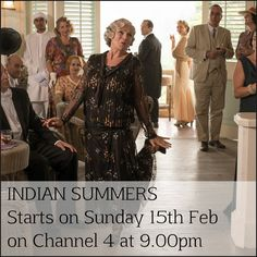 Indian Summers a brand new 10 part drama series for Channel 4 starts at 9.00pm on Sunday 15th February PRE-ORDER the entire series on DVD today from our website with FREE UK DELIVERY http://www.acorndvd.com/indian-summers.html