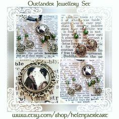 New Outlander handmade jewellery set x