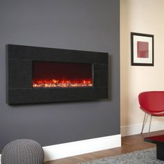 12 best wall mounted electric fires images rh pinterest com