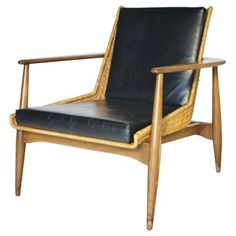 Check out this item at One Kings Lane! Lawrence Peabody Lounge Chair