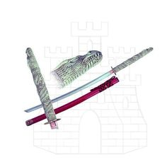 Highlander katana sword of Duncan MacLeod (Adrian Paul). Licensed Highlander sword by Marto Toledo. http://www.martoswordstoledo.com/highlander-sword/618-highlander-duncan-katana-sword.html