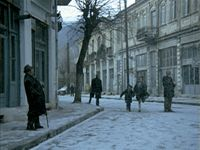 Landscape in the Mist (Theodoros Angelopoulos; Landscape In The Mist, Mists, Cinema, Street View, Movies, Movie Theater