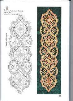 Risultati immagini per bobbin lace making patterns for beginners Irish Crochet, Crochet Lace, Crochet Edgings, Crochet Motif, Crochet Shawl, Tatting, Bobbin Lacemaking, Bobbin Lace Patterns, Loom Patterns