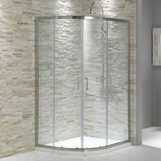 rustic stone shower - Google Search