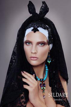 """SILDARE "" jewellery Collection Florence. www.sildare.com  Photography: Natalie Berezina.  Style: Anita Altmane.  Make up: Dita Grauda.  Model: Inese Suslova@2bmodels."
