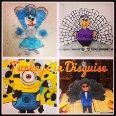 Turkeys in Disguise a super fun project that gets families involved and fosters creativity.