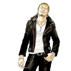 六代目武装戦線 頭 河内鉄生 Crows Zero, Red Dog, High Low, Leather Jacket, Cosplay, Manga, My Favorite Things, Comics, Gangsters