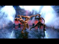 "Janel Parrish & Val & Keo ""Salsa"" - DWTS 19 Week 9 Trio Challenge - YouTube"