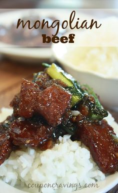This Copycat P.F. Chang's Style  Mongolian Beef is an easy recipe and will save you big bucks if you don't live near a PF Chang's {like me!} The ingredients for this dish are around $10 for a family of four, and this recipe makes a lot of {read more}