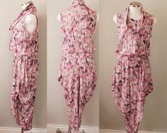 80s vintage women's small romper / dress / jumpsuit by KFTvintage, $49.00