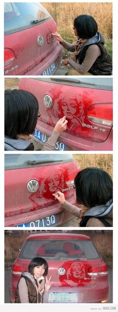 dust art, wow!