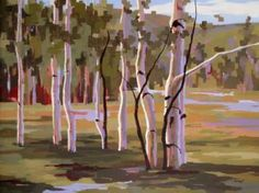Verano, oil on canvas, 36 X 48 inches, by Hadley Rampton