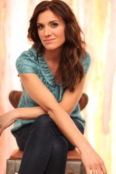 Rebecca St. James - not a huge fan of her music, but I thank God for the incredibly Godly woman that she is.
