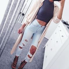"""Loving All Of @FashionNova's New Arrivals!  Search: """"Classic High Waisted Jeans- Light Blue""""  @FashionNova  @FashionNova ✨www.FashionNova.com✨"""