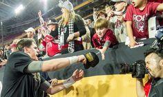 "Clemson coach hopes to ""even it up somewhere along the line"" against Alabama. College Football Championship, Championship Game, National Championship, Alabama Football, University Of Phoenix Stadium, Nick Saban, Alabama Crimson Tide, Roll Tide, Victorious"