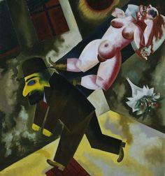 John the Woman Killer, 1918, George Grosz