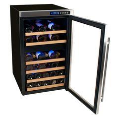 EdgeStar 34 Bottle Dual Zone Wine Cooler Secondary Image