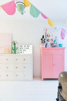 Restaurar muebles con color | Estilo Escandinavo