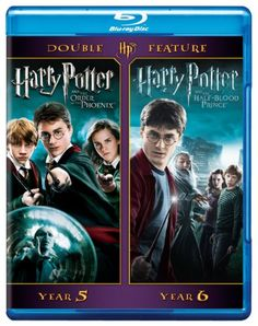 Harry Potter Double Feature: Harry Potter and the Order of the Phoenix /Harry Potter and the Half-Bl @ niftywarehouse.com #NiftyWarehouse #HarryPotter #Wizards #Books #Movies #Sorcerer #Wizard