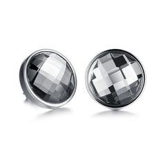 6567e8e1b fashion Titanium steel jewelry women in Europe and USA Bling zircon Stud  earrings. Stud Earrings For MenRound ...