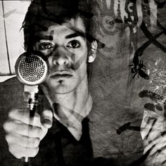Alexandre Désilets. Photo: Florence Mennessier. #album #artwork #music #montreal #mic #microphone #photography