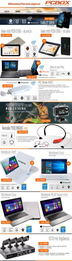 #SeamosTecnológicos PCBOX Argentina @gvinformaticaAR - #Olivos_VL  #Tablet #PCStickHeit #MDQcam #Auriculares #Notebook #KitVigilancia  www.gvinformatica.com.ar